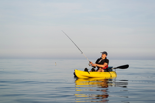 Here are some benefits of Fishing Kayak: